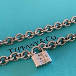 Tiffany &Co. Retired 1837 Padlock Necklace